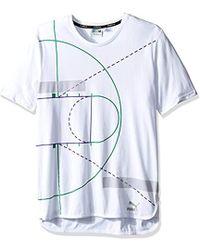 PUMA - Evo Graphic Longtee - Lyst
