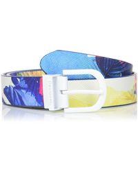 Desigual Belt_Corel Reversible Cintura - Bianco