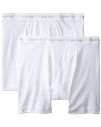 Calvin Klein - Big And Tall Cotton Classics 2 Pack Boxer Briefs, - Lyst