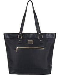 """Kenneth Cole Reaction Runway Call Nylon-twill Top Zip 16"""" Laptop & Tablet Business Tote - Black"""