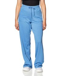 Mae Loungewear Open Leg Pajama - Blue