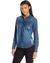 Joe's Jeans - Long Sloane Shirt - Lyst