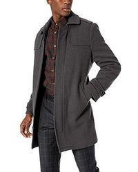 Marc New York - Edmund Topcoat Jacket - Lyst