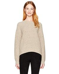 Vince - Cropped Saddle Pullover - Lyst