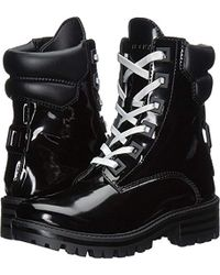0eb8f5d3ee1 Kendall + Kylie East Combat Boot in Black - Lyst