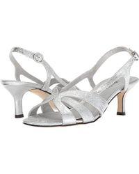 Vaneli Maeve Dress Sandal - Metallic