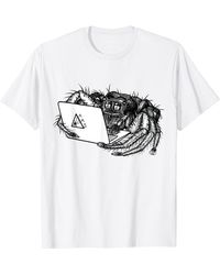 Perry Ellis Aas-2021 Tee Logo For T-shirt - White