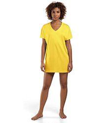 Hanro Laura Bigshirt - Yellow