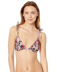 Ella Moss - Tall Triangle Swimsuit Bikini Top - Lyst