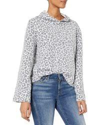 Alternative Apparel Eco Teddy Flared Sleeve Pullover - White