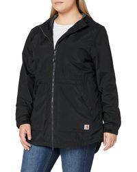 Carhartt Oc221 Rd Hdd Lghtwght Coat - Black