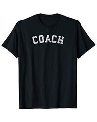 COACH - Vintage T Shirt / Old Retro Sports Gift Tee - Lyst