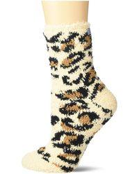 Splendid Fuzzy Lounge Socks - Multicolor