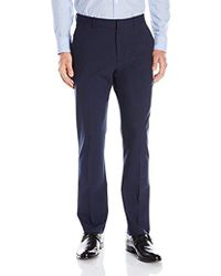 ba885f75e2ed5a Lyst - Jos. A. Bank Traveler Collection Tailored Fit Flat Front ...