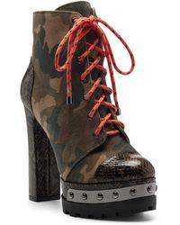 Jessica Simpson Irella Fashion Boot - Brown