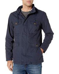 Amazon Essentials Utility Jacket Outerwear-Jackets - Blu