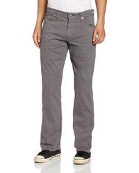AG Jeans The Protégé Straight-leg 'sud' Jean - Gray