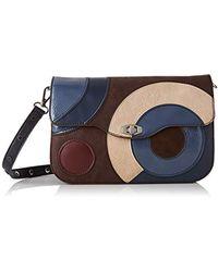 Desigual Shoulder Bag Covenant Amorgos - Brown