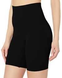 Yummie By Heather Thomson Cooling Effects High Waist Thigh Shaper - Black