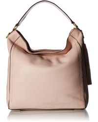 Cole Haan Cassidy Bucket Hobo Leather Bag - Multicolor