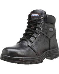 Skechers Womens Workshire Peril St Black 76561 Blk 6.5 M Us