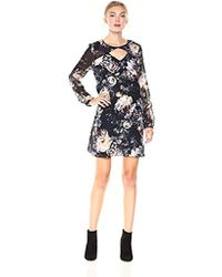 BCBGeneration - Shift Dress With Cut Outs - Lyst