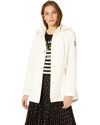Vince Camuto Hooded Softshell Jacket - White