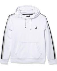 Nautica Soft Pullover Hoodie - White
