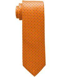 Tommy Hilfiger Core Neat I Tie - Orange