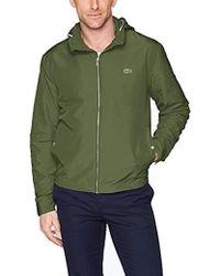 Lacoste Taffeta Light Coat, Bh6121 - Green