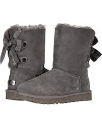 23bcb485ab0 UGG W Customizable Bailey Bow Short Fashion Boot in Brown - Lyst