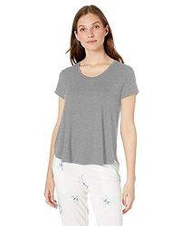 Josie Modal Short Sleeve Top - Gray