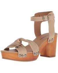 Lucky Brand - Whitneigh Heeled Sandal - Lyst