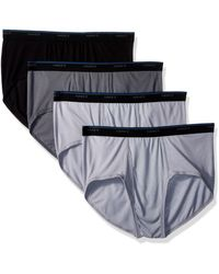 Hanes 4-pack Comfortblend Dyed Brief With Freshiq - Multicolor