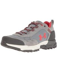 fc91ce0a657 Under Armour Women's Ua Post Canyon Low Hiking Boots in Gray - Lyst