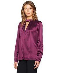 Parker Eleanor Blouse - Purple