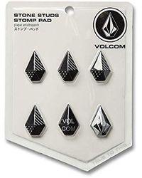 Volcom Stone Studs Pack Of 6 Snow Stomp Pads - Black