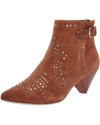 Joie Bickson Stud Ankle Boot - Brown