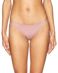 O'neill Sportswear Salt Water Solids Strappy Pant Swimsuit, Cotton Candy, Xs - Multicolor