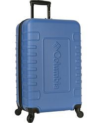 Columbia Carry-on Hardside Expandable Spinner Luggage - Blue