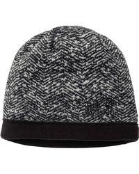 Jack Wolfskin Belleville Crossing Windproof Fleece Beanie Hat - Black