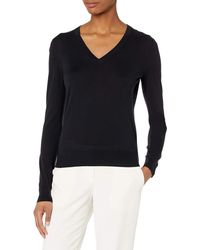 Theory V Neck Pullover - Blue