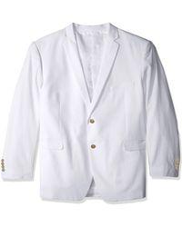 U.S. POLO ASSN. Seersucker Nested Suit - White