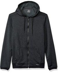 Hurley Nike Dri-fit Disperse Fleece Hoodie - Black