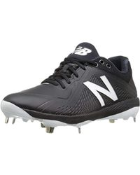 d92345efe085 New Balance - L4040v4 Metal Baseball Shoe, Mattblack, 6.5 2e Us - Lyst