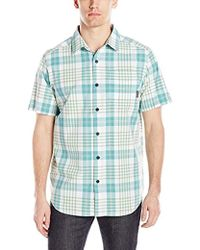 b511c61a American Eagle Ae Hawaiian Button-down Shirt in Blue for Men - Lyst