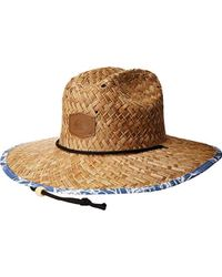 Quiksilver - Outsider Sun Protection Hat - Lyst