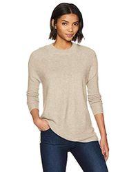 Calvin Klein - Lightweight Sweater With Stitching - Lyst