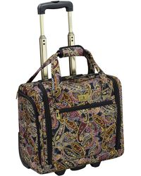 """London Fog Cranford 20"""" Expandable Carry-on Spinner - Multicolor"""
