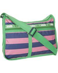 LeSportsac Deluxe Everyday Satchel,rugby,one Size - Green